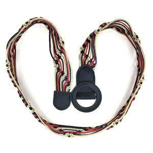 Womens Hippie Boho Macrame Rope String Waist Belt